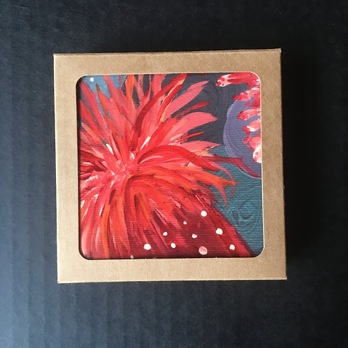 Coasters - Sea Anenome