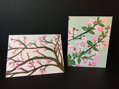 Blossom Series Notecard