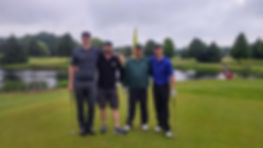 Mens league golfing