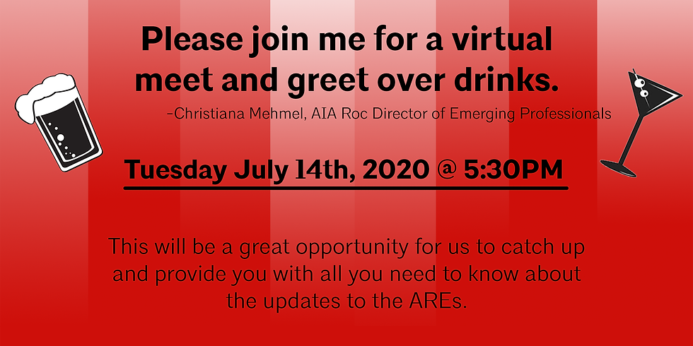 ERA: Virtual Happy Hour (Rescheduled!)