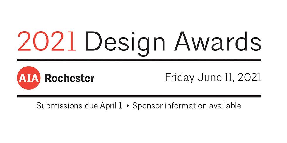 2021 Design Awards Registration - Save the Date
