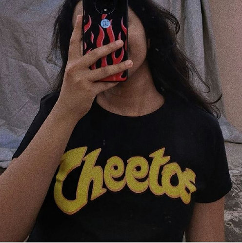 Cheetos cropped tee