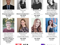 AIA Rochester, Architectural Foundation Announce Scholarships