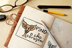 Logo Pino - Il Cane Coraggio