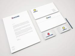 Logo e Cancelleria Concecred & Omega