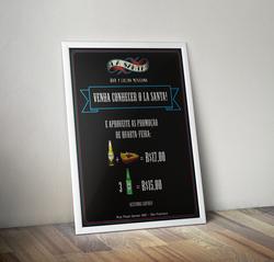 Poster La Santa Bar
