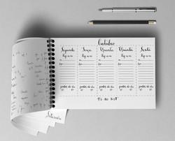 Planner Settimanale Scritto a Mano