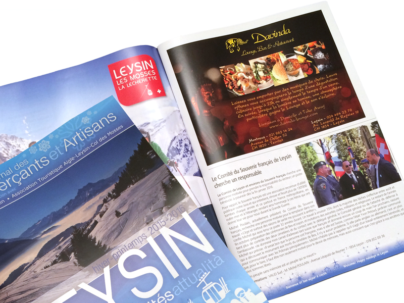 Davinda Magazine Leysin