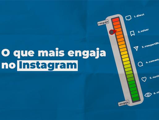 O que mais engaja no Instagram atualmente?