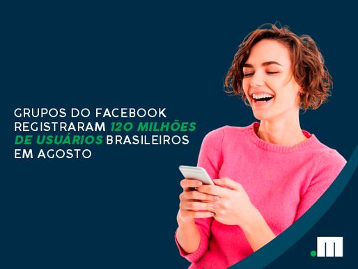 Boa marca: grupos do Facebook registram 120 milhões de usuários brasileiros