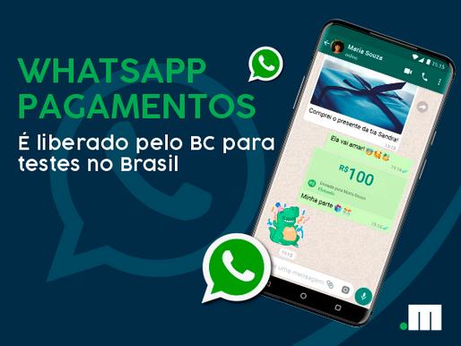 WhatsApp Pagamentos é liberado pelo Banco Central para testes no Brasil
