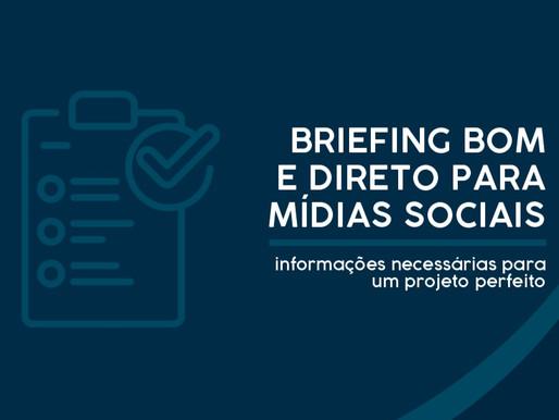 Questionário de briefing bom e direto para Marketing Digital e Mídias Sociais