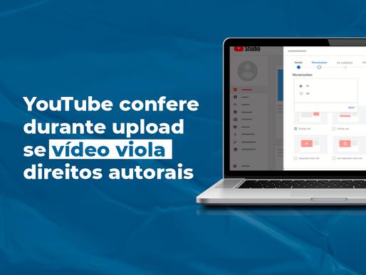 YouTube libera recurso que confere durante upload se vídeo viola direitos autorais