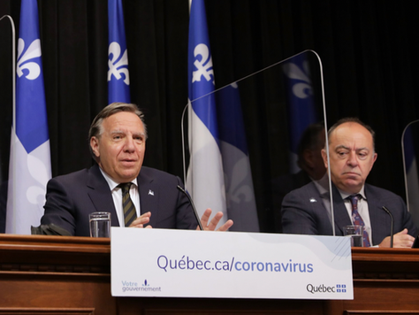Legault to hold press conference Tuesday, 1p.m. with Dubé and Arruda