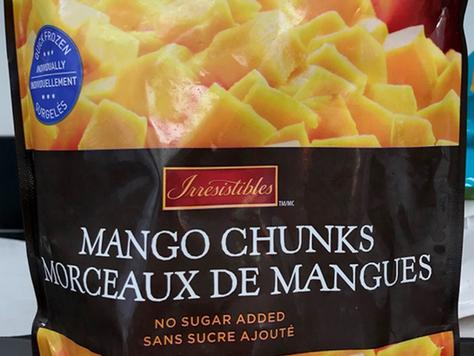 Frozen Mangoes recalled due to Hepatitis A