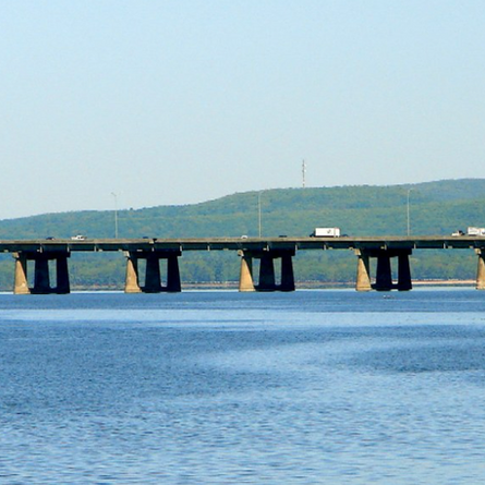 Emergency bridges are available for rent. Kidding, not kidding!