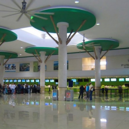 Punta Cana airport is designed for travel fun!