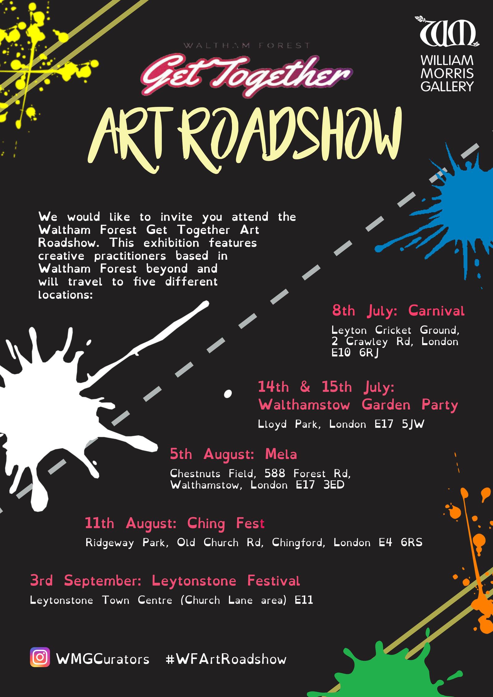 Get Together Art Roadshow