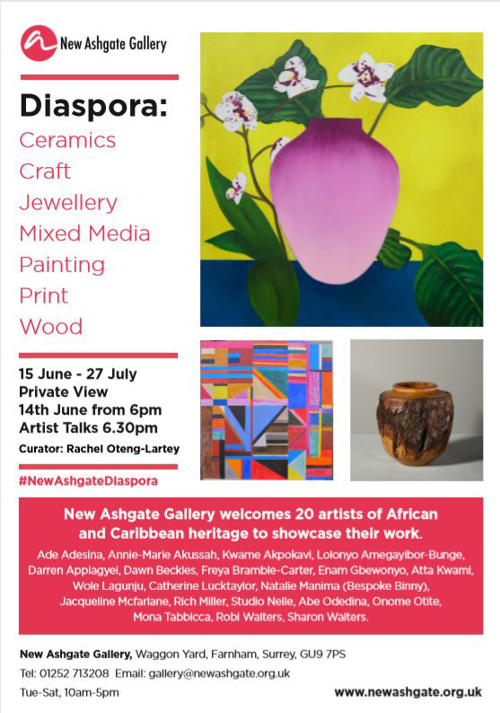 Diaspora Exhibition June - July 2019