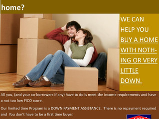 Help is now available to buy a home