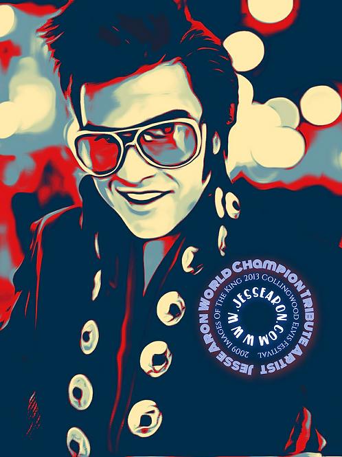 Jesse Aron World Champion Tribute Artist
