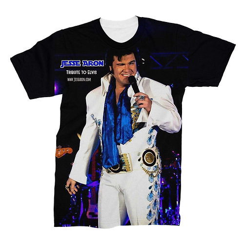 Jesse Aron Tribute To Elvis T Shirt