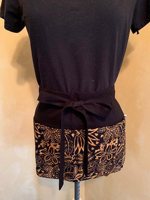 Crafter apron- Gold Batik