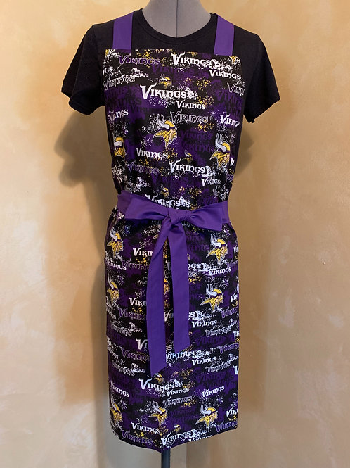 Minnesota Vikings/Purple Ties Apron