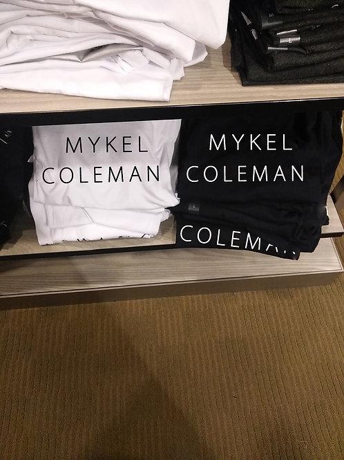 Mykel Coleman Designer T-Shirt