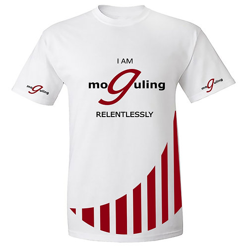 Moguling Unisex T-Shirt I AM Relentless