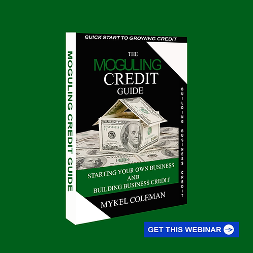 Moguling Credit Secrets Guide - Book