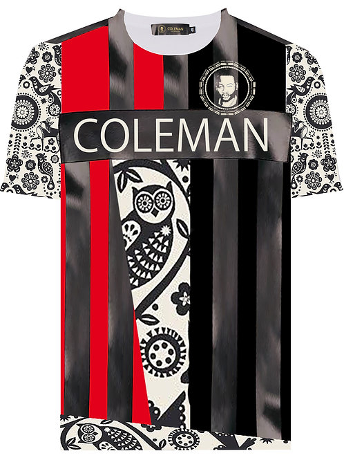 Coleman World Detail Pattern Design Shirt