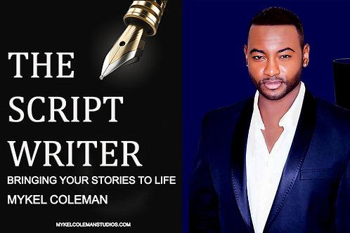 Live Script Writing Consultation | Mykel Coleman