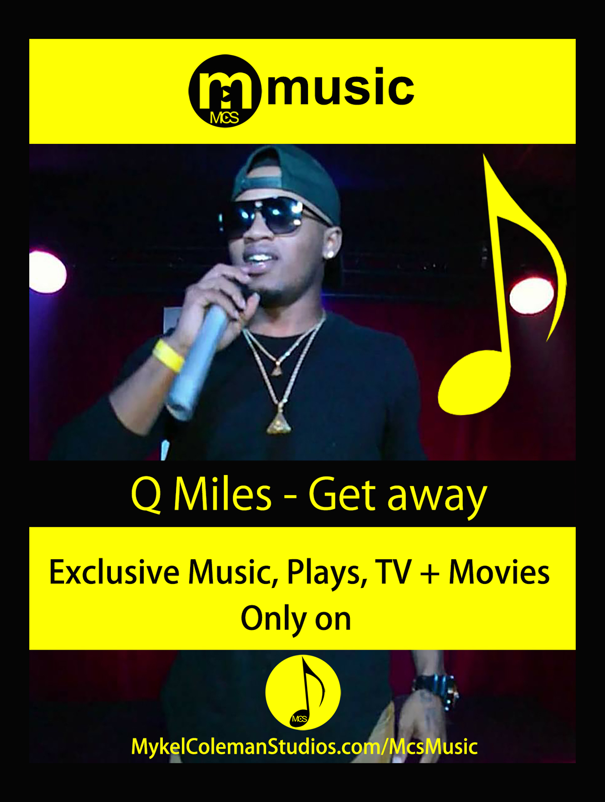 QMiles MCS Music Billboard