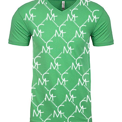 Women Mykel Coleman Design Pattern Shirt