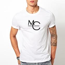MC Mykel Coleman White Shirt