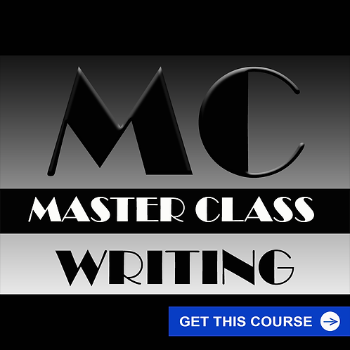 Master Class - Writing Course