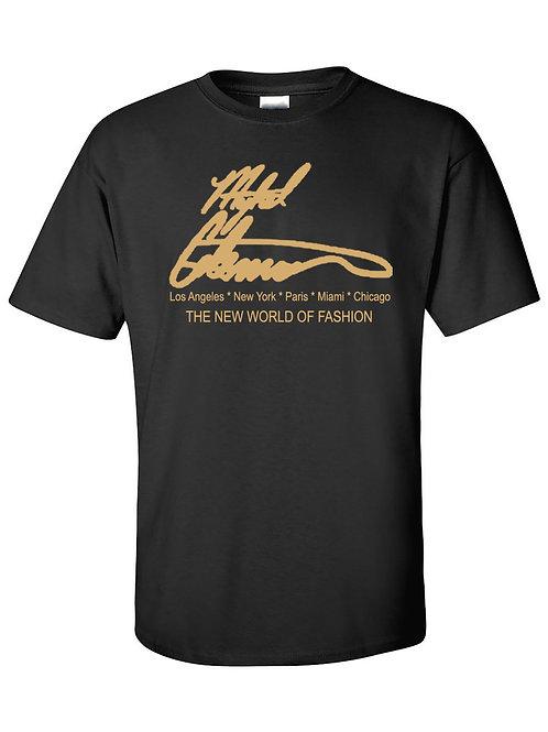 Mykel Coleman Signature Designer T-Shirt