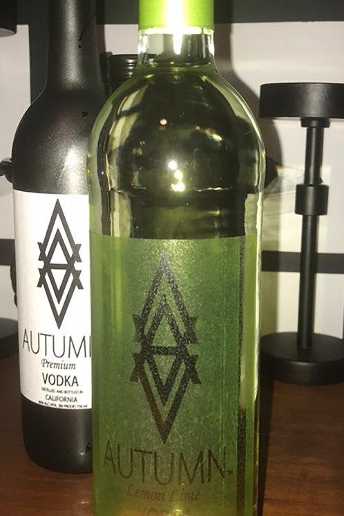 AUTUMN Lemon Lime Vodka (750 ml ) Pre-Order