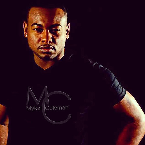 MC Black/Metallic Purple Tee