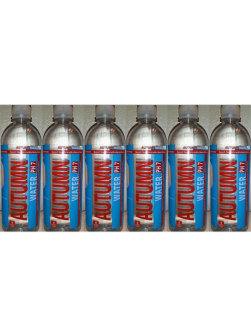 AUTUMN WATER PH7 (6 PACK) - 16.9 oz Recyclable Bottle