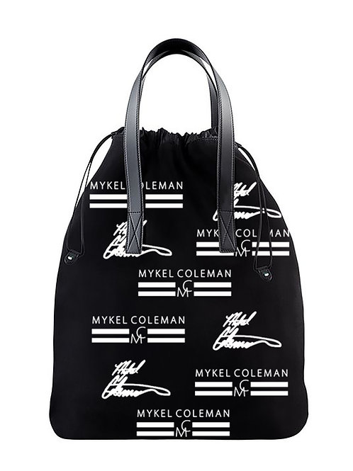 MYKEL COLEMAN | Black and White Tote Bag