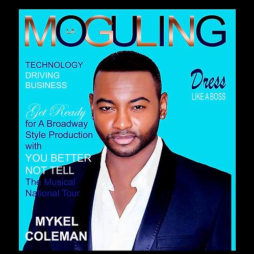 Moguling Magazine Double Spread Ad