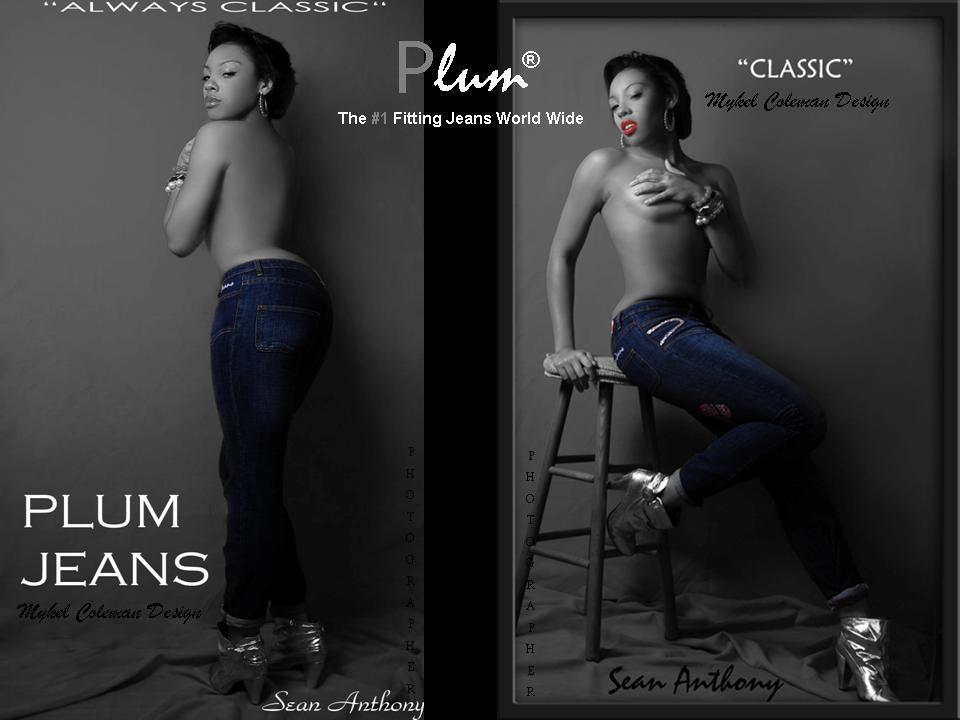 Plum Denim - Storm Blue