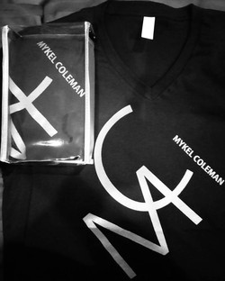 Black and White MC Mykel Coleman Shirt