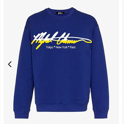 Signature Mykel Coleman Logo Sweatshirt
