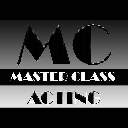 Master Class - Acting