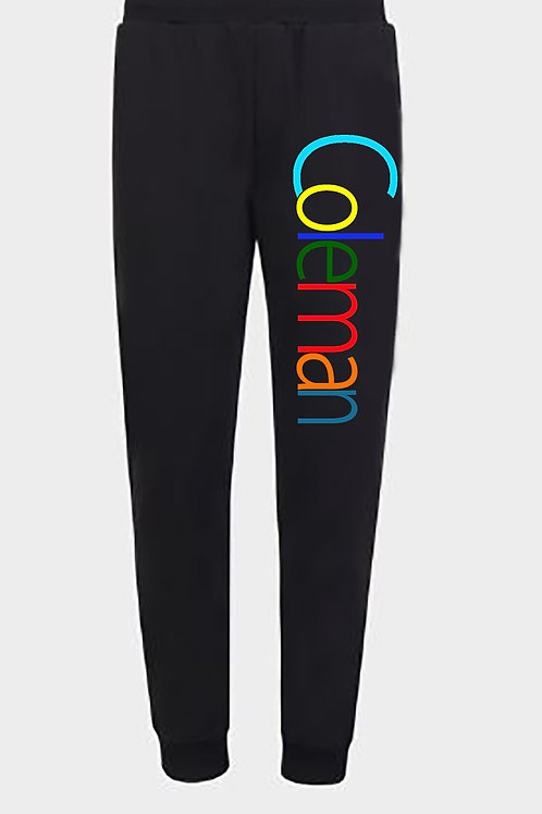 Coleman Embroidered Logo Sweatpants