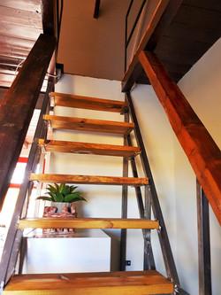 Stair-case to Loft