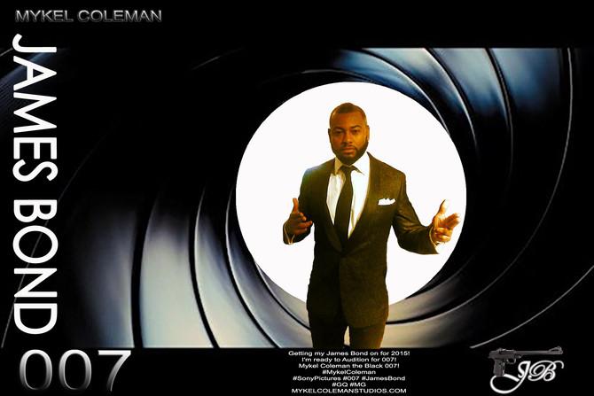 Mykel Coleman is JAMES BOND 007!